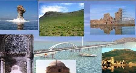 بازدید هیئت رسانه ای جمهوری آذربایجان از جاذبه های تاریخی آذربایجان غربی